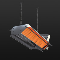 infrared gas heaters 216 3d model