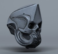 3d model scifi helmets -