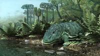 3d eryops amphibians model