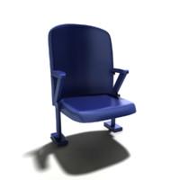 fbx bleacher chair