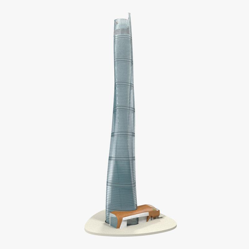 Shanghai Tower China 3d model 00.jpg