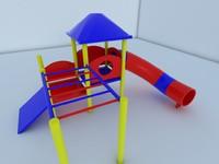 climbing slide 3ds