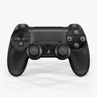 3d model sony playstation 4 controller