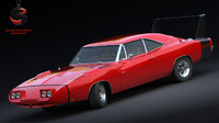 dodge charger daytona 1969 dwg