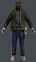 3d bandit model
