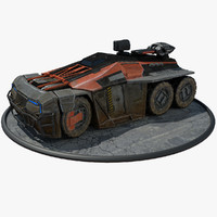 max futuristic armored personal