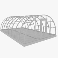 3d model greenhouse green house