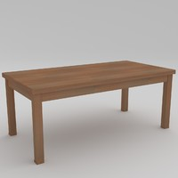 3d table desk nr 18