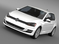 golf tsi bluemotion 3door 3d 3ds