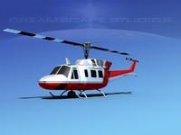 3d 212 flight bell model