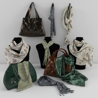 shawls and bags