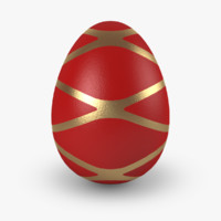 3d model easter eggs v5