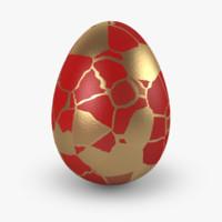 easter eggs v6 3d model