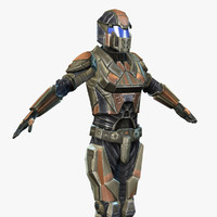 Sci-Fi Armor 6 (Female)
