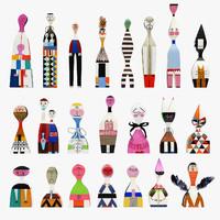 3d girard wooden dolls vitra