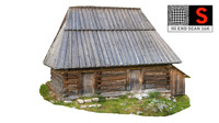 country cottage 3d max
