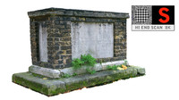 real tomb scan hd 3d model