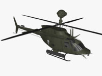 free fbx mode bell oh-58d kiowa warrior