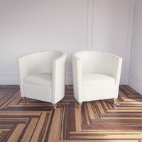 3d john bronco armchair topdeq model