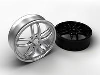 3d model wheel disk