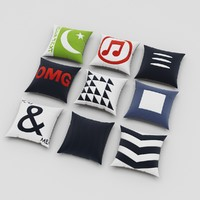 3d pillows 60 model