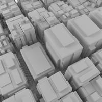 3ds max cityscape landscape town
