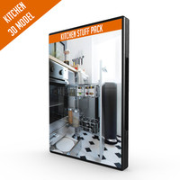 3d kitchen stuff