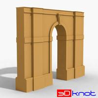 3d arches model