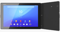 3d model sony xperia z4 tablet