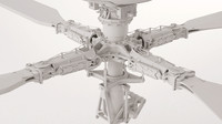 rotor apache 3d model