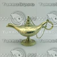 3dsmax aladdin magic lamp