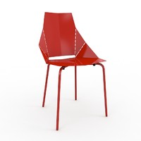 3d real good chair bludot model