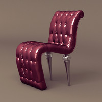 jumbo cloe chair passion 3d model