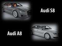 Collection of Audi A8 cars