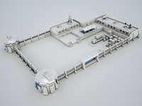 3d 3ds military base02