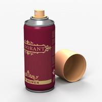 deodorant odor 3d max