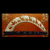 3d model chinese ivory carving