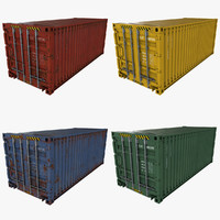 3d model polys containers