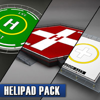 3ds pack helicopter pad helipad
