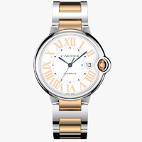 Cartier le ballon bleu red gold
