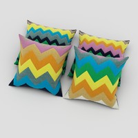 pillows 63 3d model