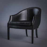 3ds max living divani abc armchair
