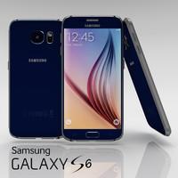 samsung galaxy s6 sapphire 3d blend