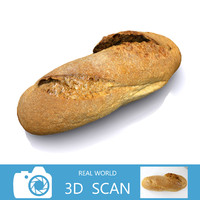 3d scanned bread