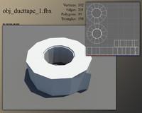 duct tape 3d model
