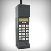 3d model used nokia cityman