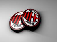 AC Milan Logo 3d