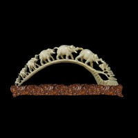3d chinese ivory carving