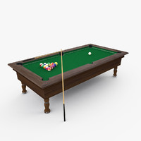 billiard pool cue 3ds
