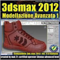 3ds max 2012 Modellazione Avanzata Vol.17 cd front
